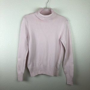 Gap Pale Pink Turtleneck Sweater L